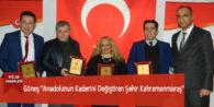 """Güneş """"Anadolu'nun Kaderini Değiştiren Şehir Kahramanmaraş"""""""