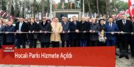 Hocalı Parkı Hizmete Açıldı