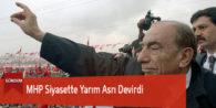 MHP Siyasette Yarım Asrı Devirdi