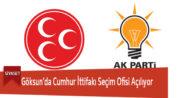 Göksun'da Cumhur İttifakı Seçim Ofisi Açılıyor