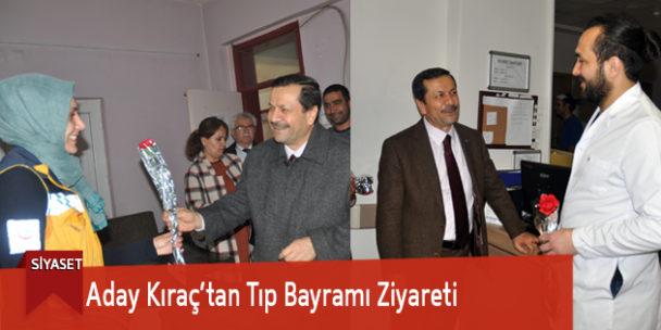Aday Kıraç'tan Tıp Bayramı Ziyareti