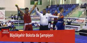 Büyükşehir Boksta da Şampiyon