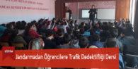 Jandarmadan Öğrencilere Trafik Dedektifliği Dersi