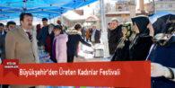 Büyükşehir'den Üreten Kadınlar Festivali