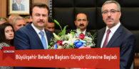 Büyükşehir Belediye Başkanı Güngör Görevine Başladı