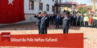 Göksun'da Polis Haftası Kutlandı