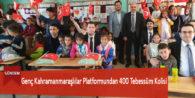 Genç Kahramanmaraşlılar Platformundan 400 Tebessüm Kolisi