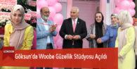 Göksun'da Woobe Güzellik Stüdyosu Açıldı