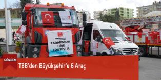TBB'den Büyükşehir'e 6 Araç