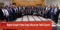 Başkan Güngör'e Baba Ocağı Göksun'dan Tebrik Ziyareti