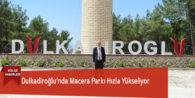Dulkadiroğlu'nda Macera Parkı Hızla Yükseliyor