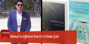 Göksun'lu Eğitimci Eren'in 2.Kitabı Çıktı