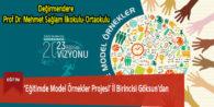 'Eğitimde Model Örnekler Projesi' İl Birincisi Göksun'dan