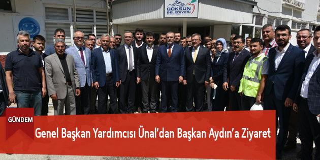 Genel Başkan Yardımcısı Ünal'dan Başkan Aydın'a Ziyaret