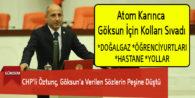 CHP'li Öztunç, Göksun'a Verilen Sözlerin Peşine Düştü