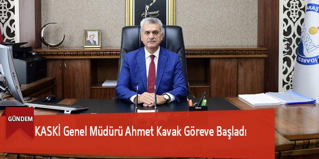 Kaski Genel Müdürü Ahmet Kavak Göreve Başladı
