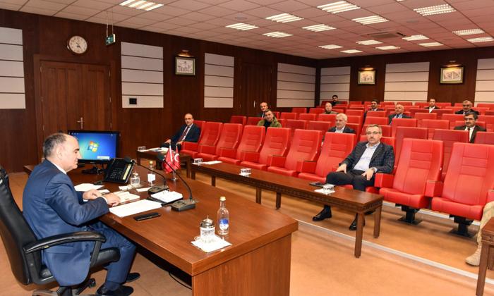 İl Umumi Hıfzıssıhha Meclisi Toplandı