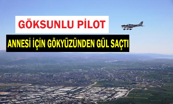Bursa'da Gökyüzünden Güller Döküldü