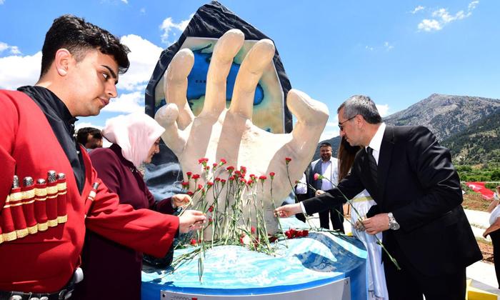 Fındık'ta Çerkes Sürgün Anıtının Açılışı Yapıldı