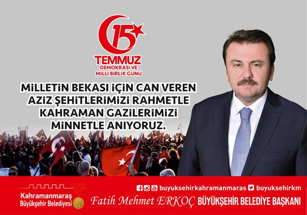 Kahramanmaraş Büyükşehir Belediyesi-Fatih Mehmet Erkoç
